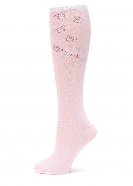 LARMINI Гольфы LR-G-158778, цвет розовый/белый