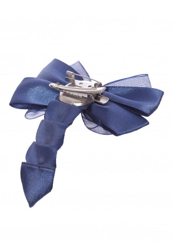 LARMINI Брошь LR-AC-B-BL-PTS-D, цвет темно-синий