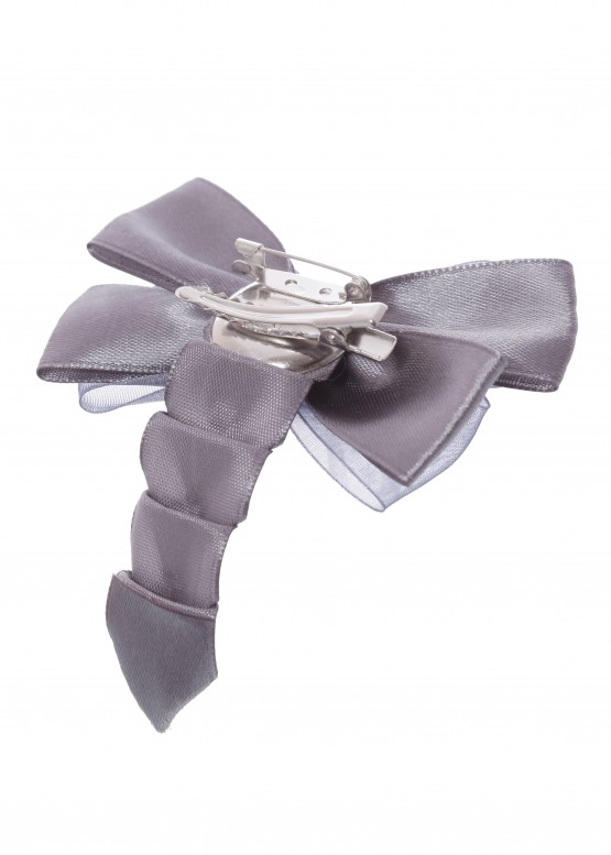 LARMINI Брошь LR-AC-B-BL-PTS-D, цвет серый
