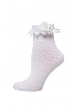LARMINI Носки LR-S-RFB-TCHOM-PJ-KG-29-W, цвет белый