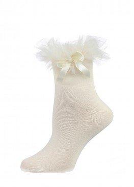 LARMINI Носки LR-S-RFAT-B-SL, цвет кремовый