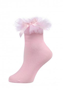 LARMINI Носки LR-S-RFAT-B-SL, цвет розовый