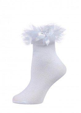 LARMINI Носки LR-S-RFAT-B-SL, цвет белый
